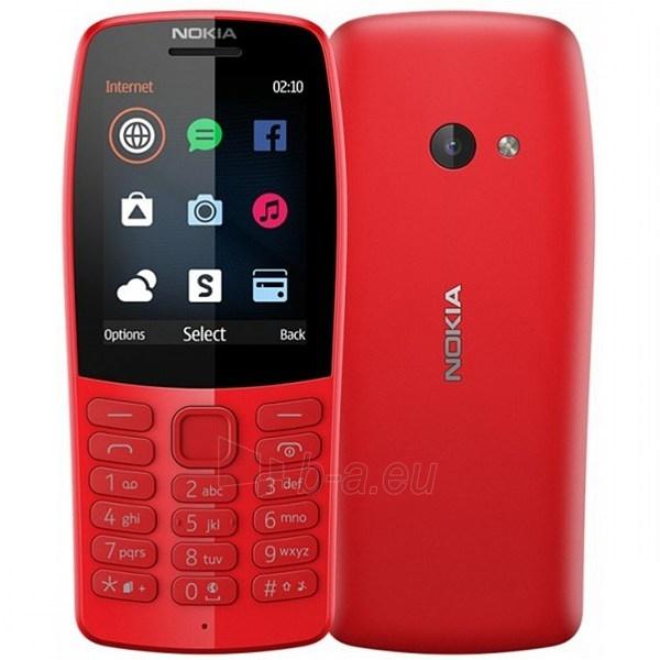 Mobilus telefonas Nokia 210 Dual Sim red Paveikslėlis 1 iš 2 310820205777