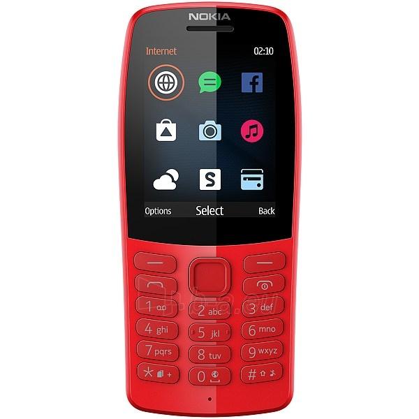 Mobilus telefonas Nokia 210 Dual Sim red Paveikslėlis 2 iš 2 310820205777
