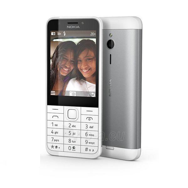 Mobilus telefonas Nokia 230 Dual Sim silver ENG Paveikslėlis 1 iš 5 310820160614