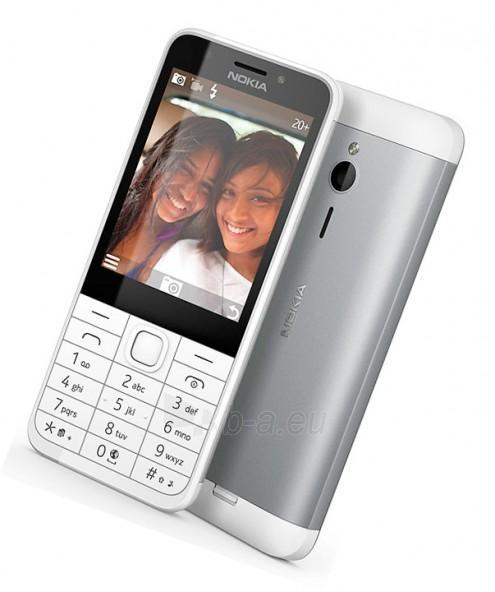Mobilus telefonas Nokia 230 Dual Sim silver ENG Paveikslėlis 3 iš 5 310820160614