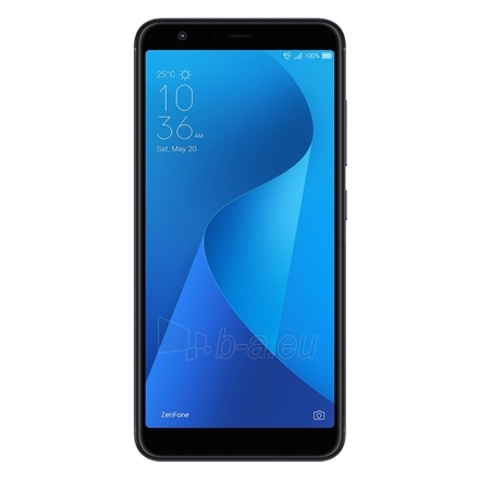 "Mobilusis telefonas Asus ZenFone MAX Plus ZB570TL Deepsea Black, 5.7 "", FHD+, 2160 x 1080 pixels, Mediatek, MT6750V, Internal RAM 3 GB, 32 GB, micro SD card supports up to 256GB, Dual SIM, Nano-SIM, 4G, Main camera 16+8 MP, Secondary camera 8 MP, An Paveikslėlis 3 iš 3 310820131092"