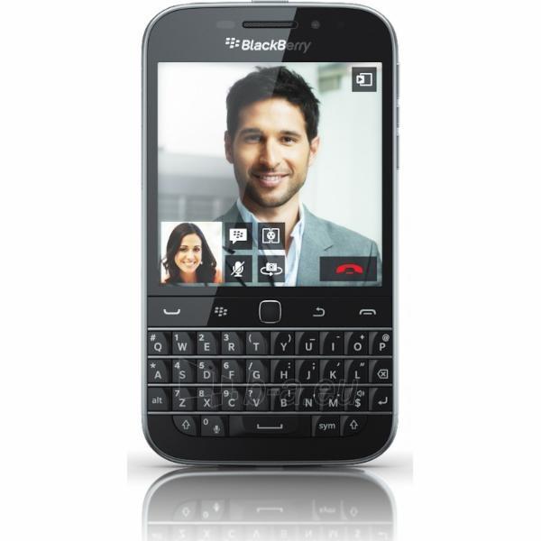Mobilusis telefonas Blackberry Q20 classic QWERTY 4G NFC 16GB black Paveikslėlis 1 iš 1 250231002577