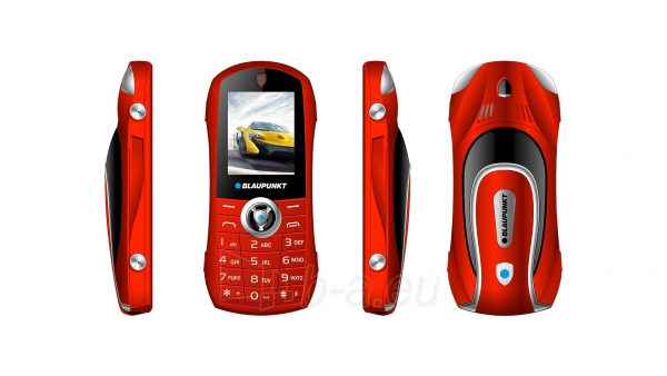 Mobilusis telefonas Blaupunkt Car red Paveikslėlis 3 iš 4 310820215745