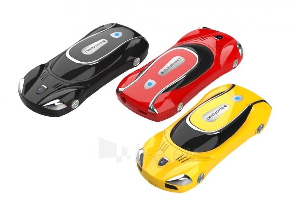 Mobilusis telefonas Blaupunkt Car red Paveikslėlis 4 iš 4 310820215745