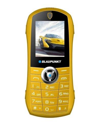 Mobilais telefons Blaupunkt Car yellow Paveikslėlis 1 iš 4 310820215746