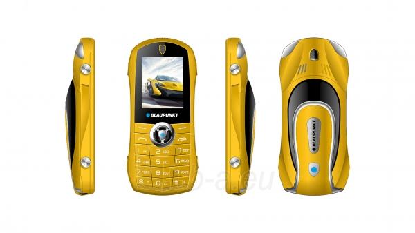 Mobilais telefons Blaupunkt Car yellow Paveikslėlis 3 iš 4 310820215746
