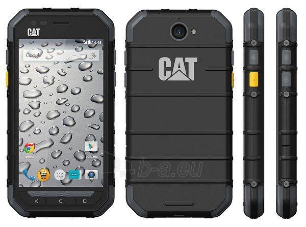 "Mobilais telefons Caterpillar CAT S30 Outdoor Mobilais telefons (melns) Dual SIM 4.5"" TN 480x854/ 1.1 GHz Quad-core/ 8GB/ 1GB RAM/ Android 5.1/ Camera(primary) 5MP, autofocus, Camera(secondary) 2MP, Video 1920x1080, 60fps/ microSD, up to 64GB/ micr Paveikslėlis 1 iš 1 310820002617"