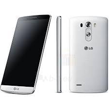 Mobile phone LG D855 G3 4G 16GB silk white EU Paveikslėlis 1 iš 1 250231002100