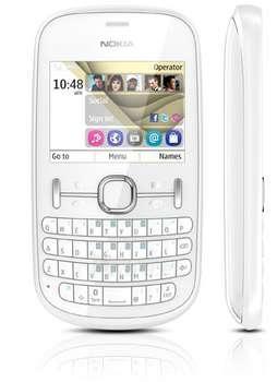 Mobile phone NOKIA 201 WHITE Paveikslėlis 1 iš 1 250231000409