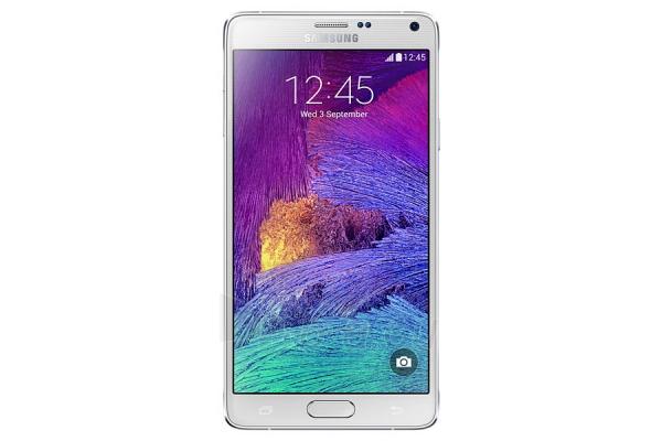 Mobilusis telefonas SAMSUNG Galaxy Note 4 White 32GB Paveikslėlis 1 iš 1 310820002608