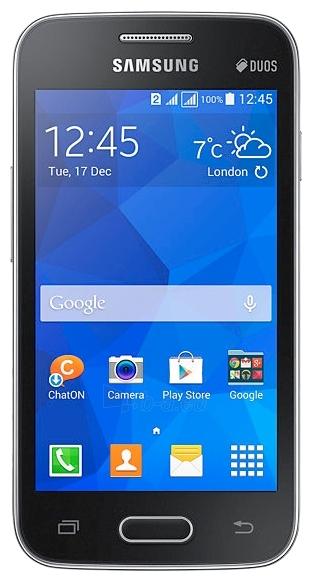 Mobilusis telefonas SAMSUNG SMG318H Ceramic Black Paveikslėlis 1 iš 1 310820002354