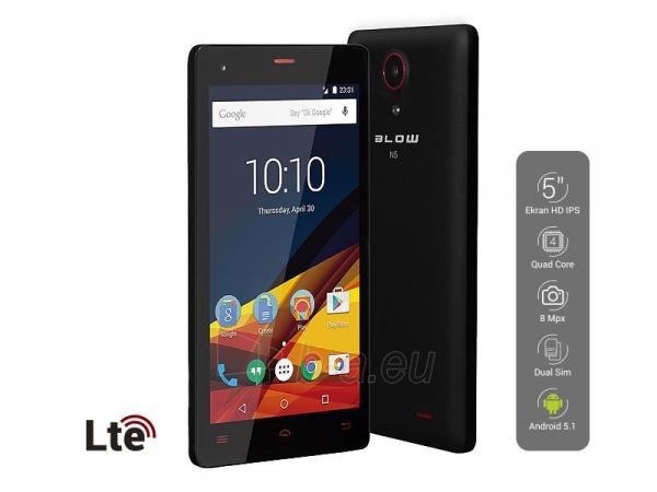 Mobile phone Smartphone BLOW N5 LTE, Dual SIM Paveikslėlis 1 iš 2 310820039670
