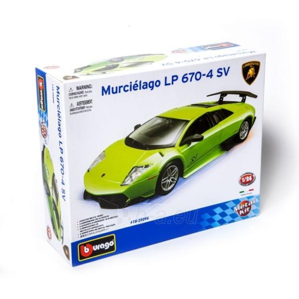 Modelis Bburago MURCIELAGO LP 670-4 SV 1:24 Kit Bburago 18-25096 Paveikslėlis 1 iš 4 310820027660