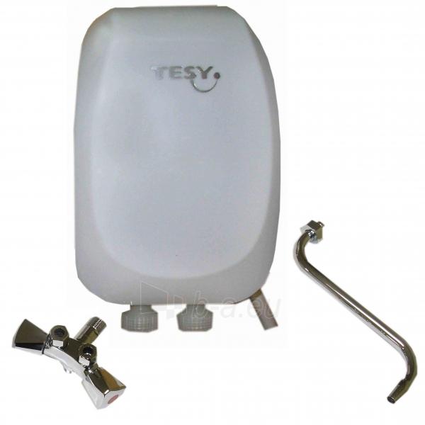 Momentinis elektrinis vandens šildytuvas 5kW KI (virtuvei) Paveikslėlis 1 iš 2 271410000255