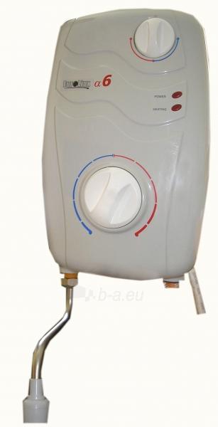 Momentinis elektrinis vandens šildytuvas 6kW Paveikslėlis 1 iš 2 271410000256