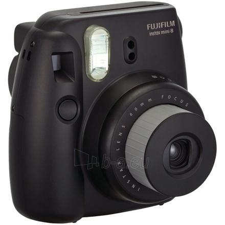 Fujifilm Instax Mini 8 Black + Instax mini glossy (10) Paveikslėlis 1 iš 2 250222040101281