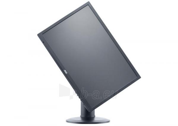 Monitor AOC e2260Pq/BK 22, 2ms GTG, D-Sub, DVI-D, DP, black Paveikslėlis 3 iš 3 250251202088