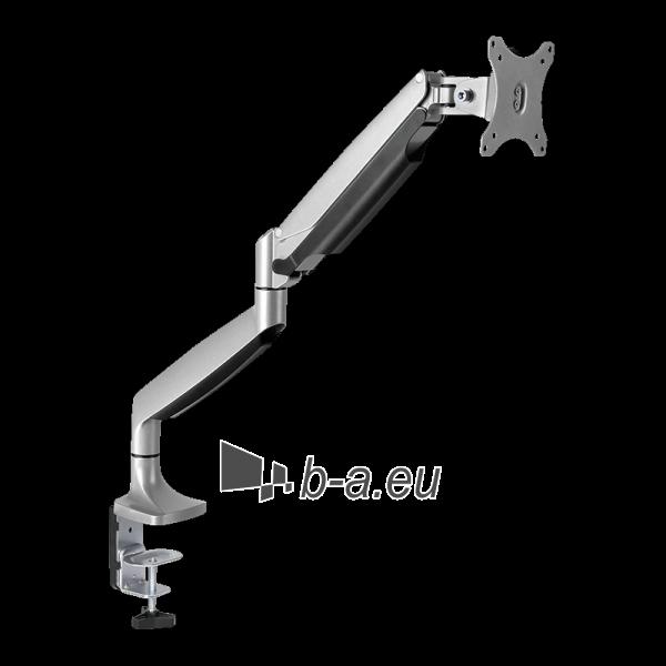 Monitoriaus laikiklis LOGILINK - Alumium monitor desk mount,13-27, max. 9 kg Paveikslėlis 3 iš 6 310820144807