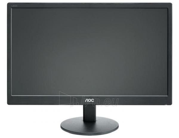 Monitorius AOC E2070SWN 19.5 LED HD+ VGA, 200 cdm2, 90/60 Paveikslėlis 1 iš 15 250251202210
