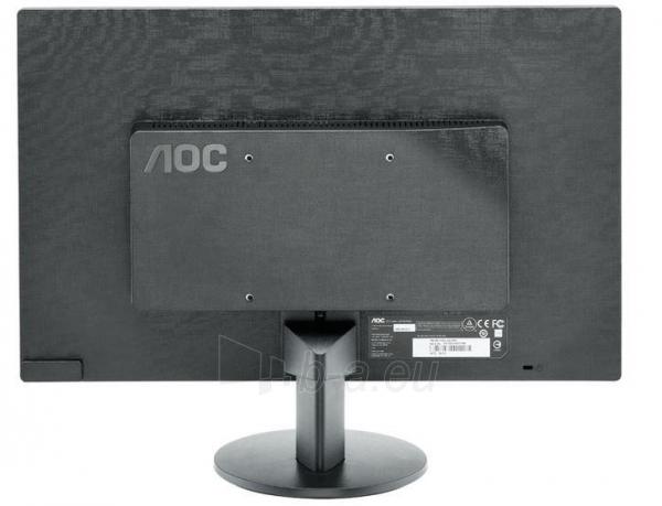Monitorius AOC E2070SWN 19.5 LED HD+ VGA, 200 cdm2, 90/60 Paveikslėlis 15 iš 15 250251202210
