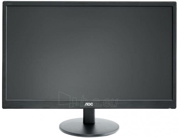 Monitorius AOC E2270SWN 21.5 LED FHD, VGA, 200 cdm2, 90/65 Paveikslėlis 1 iš 14 250251202212