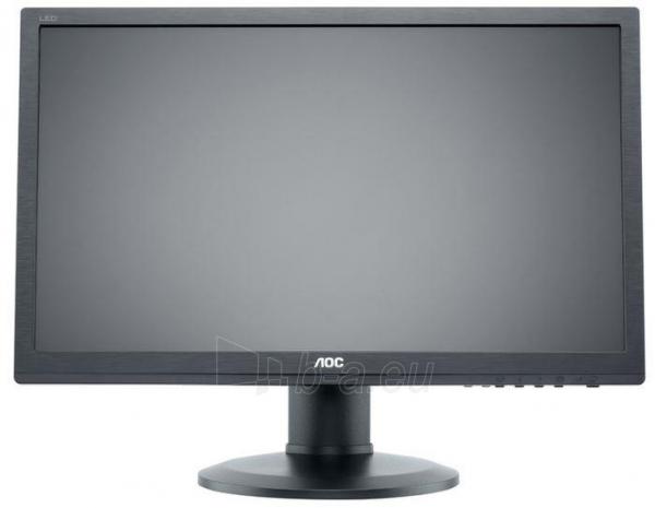 Monitorius AOC e2460Phu 24, LED, wide Full HD, HDMI, DVI, Garsiakl. Paveikslėlis 1 iš 4 250251202213