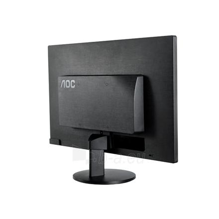 Monitorius AOC E2470SWHE 23.6'' TN LED/16:9/1920×1080/250cdm2/5ms/H-170,V-160/20M:1/HDMI/D-Sub,Tilt,Vesa/Black Paveikslėlis 5 iš 6 250251201256