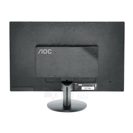 Monitorius AOC E2470SWHE 23.6'' TN LED/16:9/1920×1080/250cdm2/5ms/H-170,V-160/20M:1/HDMI/D-Sub,Tilt,Vesa/Black Paveikslėlis 6 iš 6 250251201256