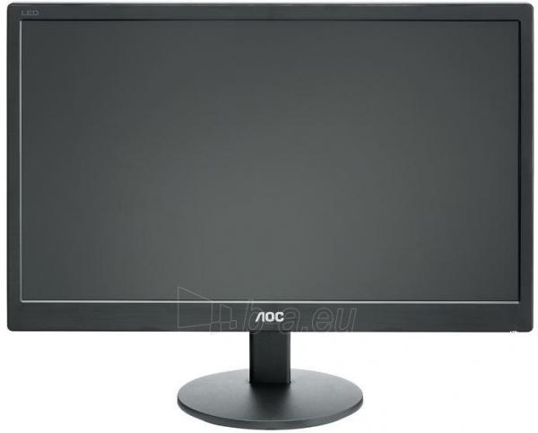 AOC E970SWN 18.5'' LED/16:9/1366×768/200cdm2/5ms/H-90,V-65/20M:1/VGA/Tilt,Vesa/Black Paveikslėlis 1 iš 3 250251201299