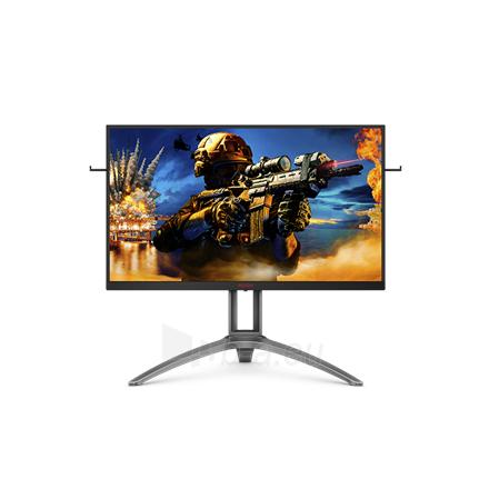 "Monitorius AOC Gaming Monitor AG273QZ 27 "", TN, QHD, 16:9, 0.5 ms, 400 cd/m², Black Paveikslėlis 1 iš 3 310820221601"