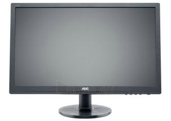 Monitorius AOC LED e2260Sda 22 wide, DVI, speakers Paveikslėlis 1 iš 3 250251202222