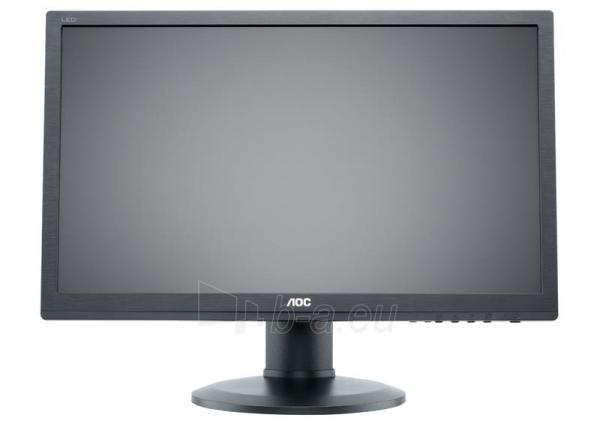 AOC Monitor LED e2460Pq 24 Full HD, 2ms, D-Sub, DVI-D, DP, speaker Paveikslėlis 2 iš 5 250251202044