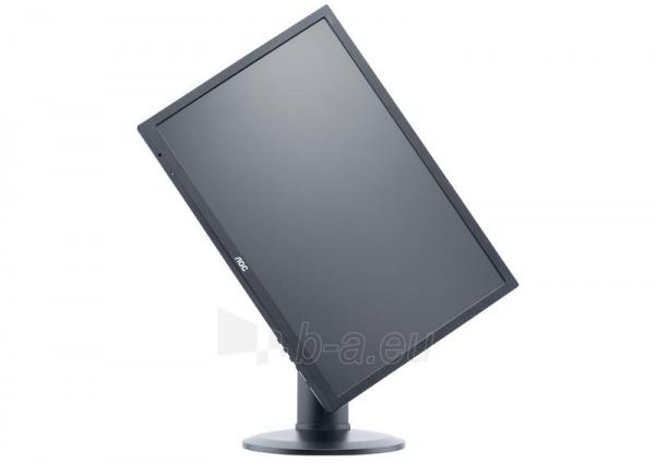 AOC Monitor LED e2460Pq 24 Full HD, 2ms, D-Sub, DVI-D, DP, speaker Paveikslėlis 3 iš 5 250251202044