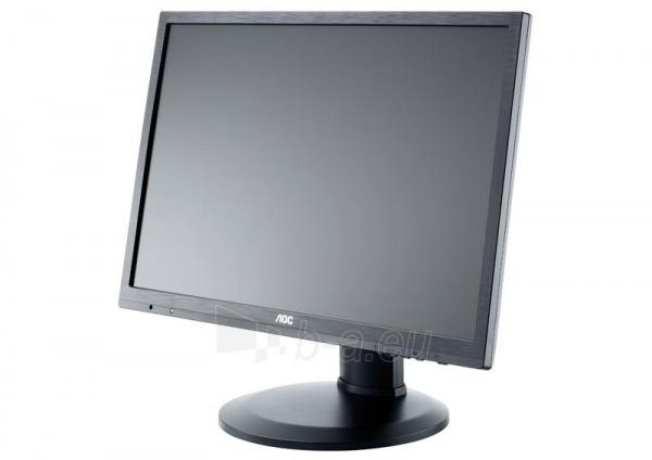AOC Monitor LED e2460Pq 24 Full HD, 2ms, D-Sub, DVI-D, DP, speaker Paveikslėlis 4 iš 5 250251202044