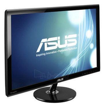 Monitorius Asus LED VS278Q 27'' wide, Full HD, 1ms, DP, 2xHDMI, speakers, black Paveikslėlis 1 iš 2 250251201321