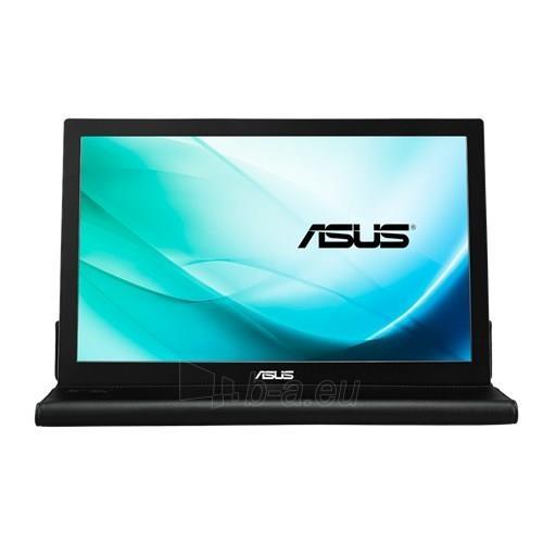 Monitorius Asus MB169B+ 15.6 IPS LED FHD, 14ms, USB3, Juodas Paveikslėlis 3 iš 4 250251202422