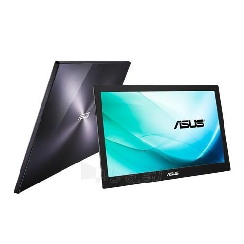 Monitorius Asus MB169B+ 15.6 IPS LED FHD, 14ms, USB3, Juodas Paveikslėlis 4 iš 4 250251202422