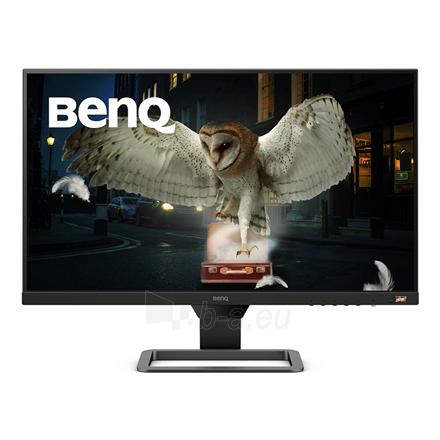 "Monitorius Benq EW2780 27 "", IPS, FHD, 1920 x 1080, 16:9, 5 ms, 250 cd/m², Black/Metallic grey Paveikslėlis 1 iš 5 310820214262"