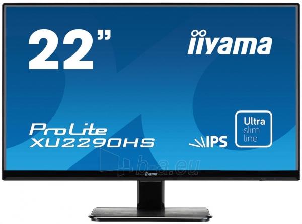 LCD 21,5 Prolite XU2290HS-B1, IPS LED, Full HD, DVI, HDMI, Garsiakalbiai, blac Paveikslėlis 1 iš 2 250251202318