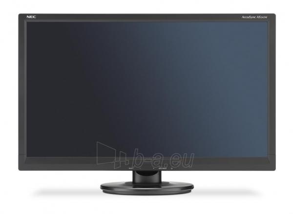 Monitorius NEC AccuSync LCD AS242W 24, Full HD, DVI, VGA, Juodas Paveikslėlis 1 iš 2 250251202436
