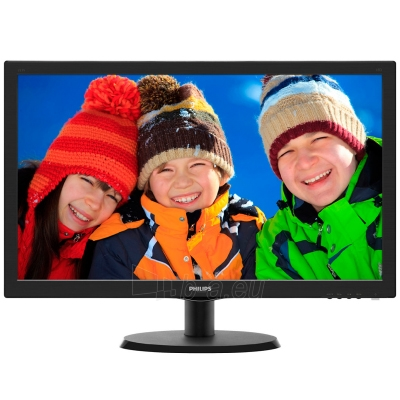 Monitor PHILIPS 223V5LSB 21.5'' WLED LCD 1920x1080 Black Paveikslėlis 1 iš 2 250251201234