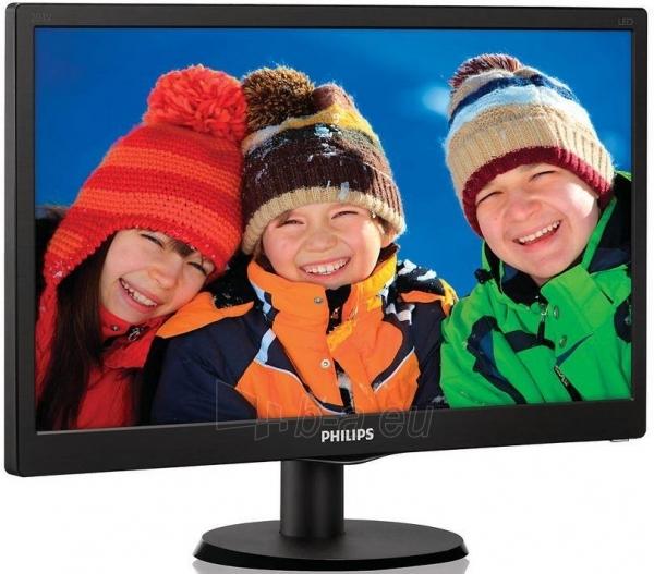 Monitorius Philips V-line 203V5LSB26/10 19.5 LED, 5ms, Juodas Paveikslėlis 1 iš 2 250251202199