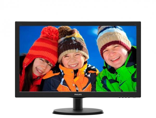 Monitorius Philips V-line 223V5LSB 21.5 LED FHD, DVI, 250 cd/m2, 170/160 Paveikslėlis 1 iš 1 250251202201