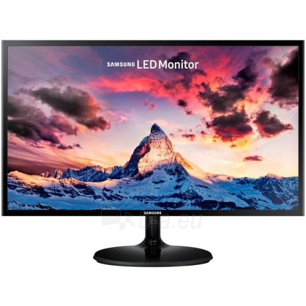 Monitorius Samsung 23,5 S24F350FHU LED monitor, 23,5 LED PLS, 1920x1080, 16.9, 250cd/m2, MEGA DCR, 178° / 178°, 4 ms, D-Sub, HDMI, Black Paveikslėlis 1 iš 2 310820047359