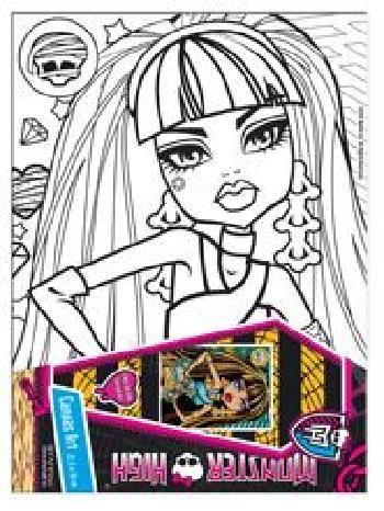 Monster High 6611 Paveikslėlis 1 iš 1 250710900706