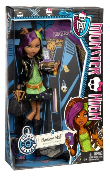 Monster High New Scaremester Clawdeen Wolf Fashion Doll Paveikslėlis 1 iš 3 250710901023