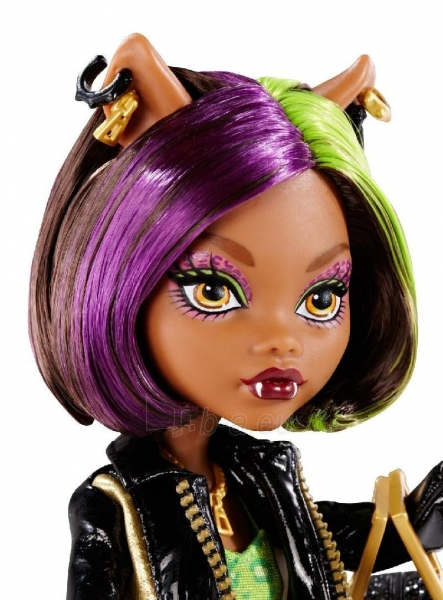 Monster High New Scaremester Clawdeen Wolf Fashion Doll Paveikslėlis 3 iš 3 250710901023