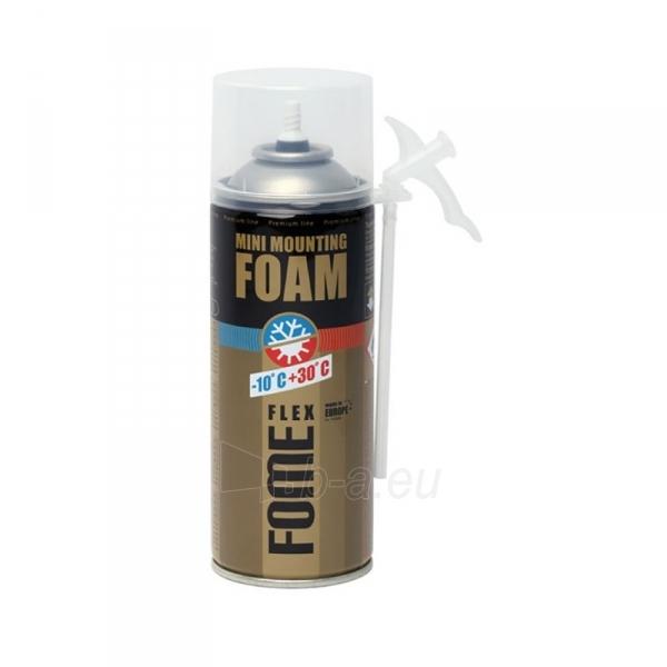 Montavimo putos FOME FLEX Mini mounting foam 230 ml Paveikslėlis 1 iš 1 310820014045