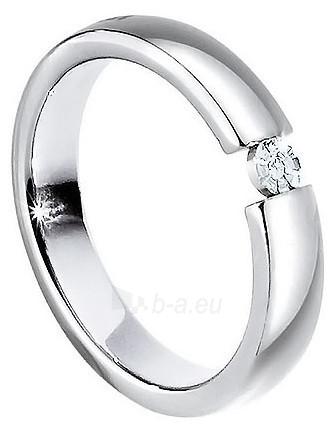 Morellato nerūdijančio plieno žiedas su deimantu Love Rings S8532 (Dydis: 61 mm) Paveikslėlis 1 iš 2 310820023350