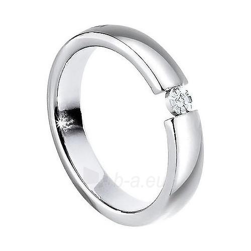 Morellato nerūdijančio plieno žiedas su deimantu Love Rings S8532 (Dydis: 65 mm) Paveikslėlis 1 iš 1 310820023352